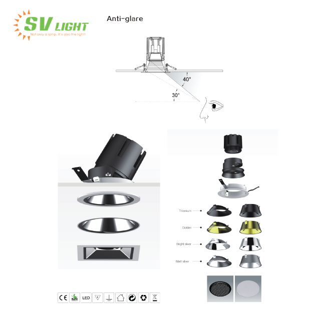 đèn led spotlight