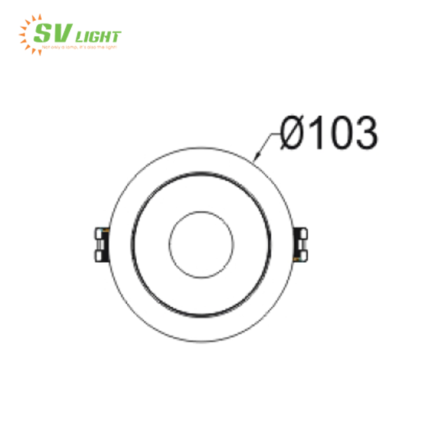Đèn Led Spotlight 6W, 9W, SVC-69T5