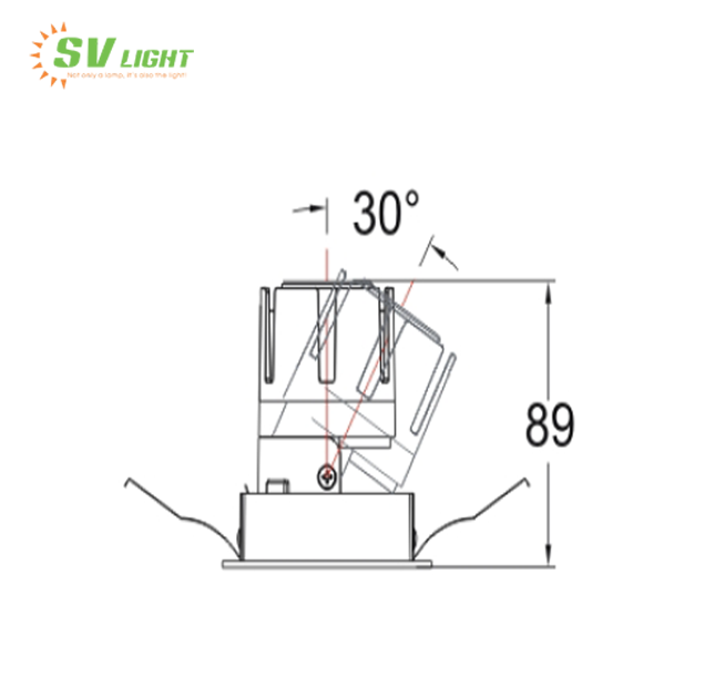 đèn led cao cấp svc-69v1
